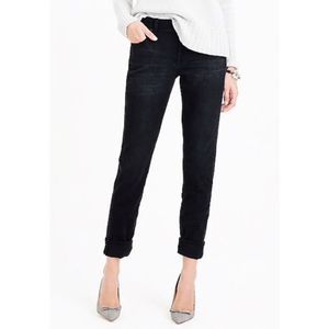 J. Crew | Black Wash Slim Broken In Boyfriend